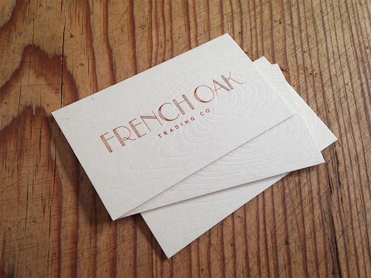 french oak trading co luke lucas typographer graphic designer