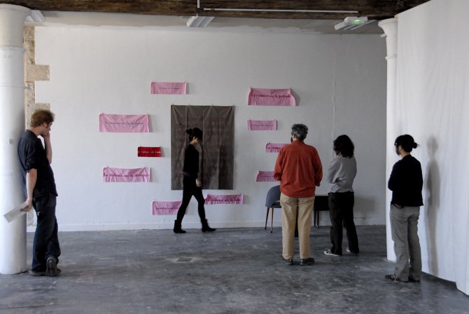 Wenjue ZHANG, I want to be your mirror, performance II, 2m43, France, 2010